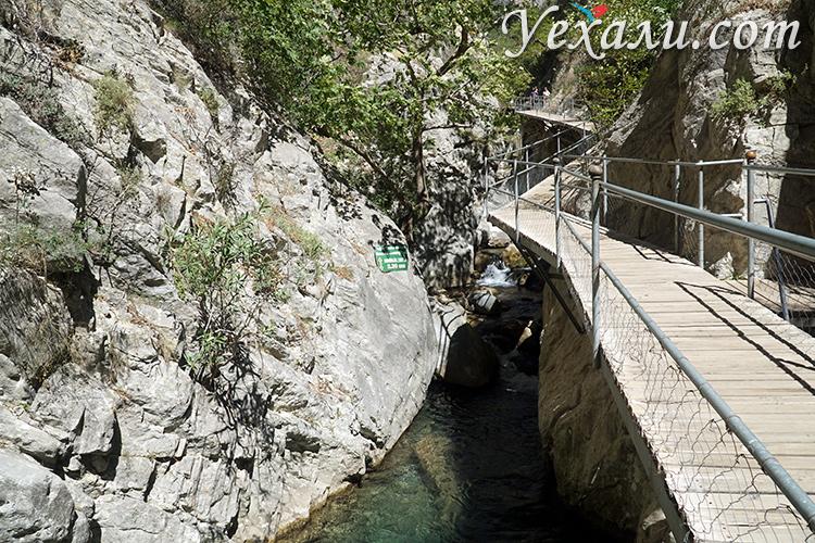 Экскурсия в каньон Сападере