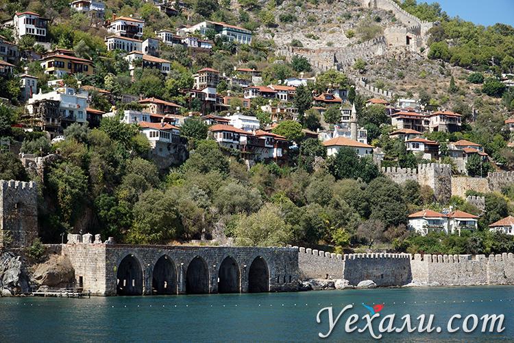 Экскурсия на корабле в Алании и Анталии, Турция