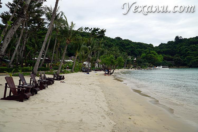 Пляж Ао Прао на Ко Самете