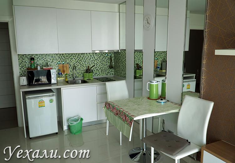 Кухня в Amazon Residence
