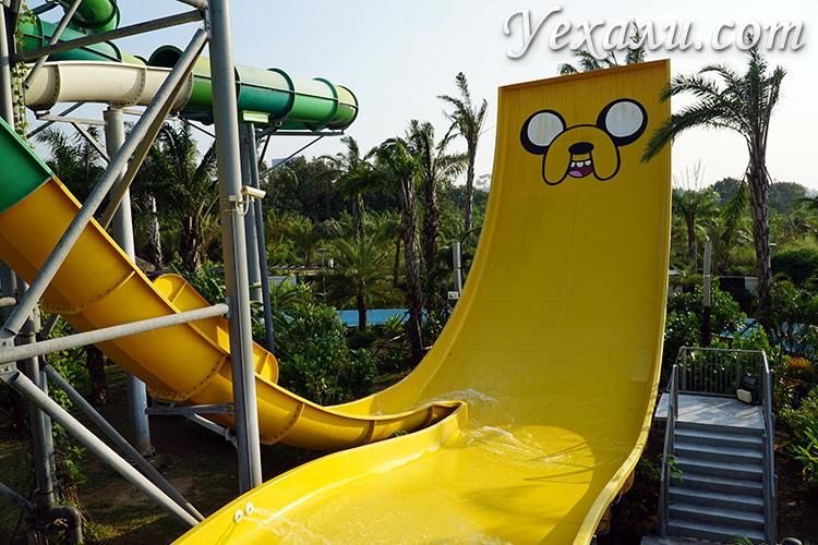 Аквапарк Cartoon Network лучший аквапарк в Паттайе
