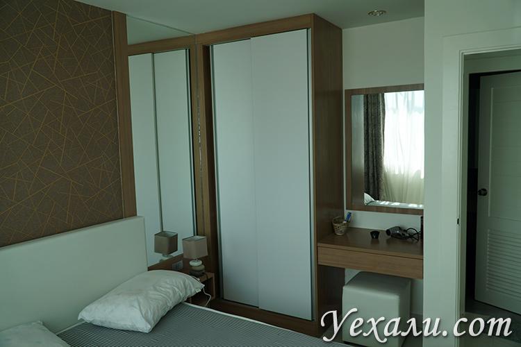 Спальня и шкаф