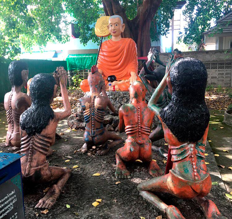 Экскурсия Дискавери 7 в 1, Паттайя, Тайланд: Храм Ада и Рая.