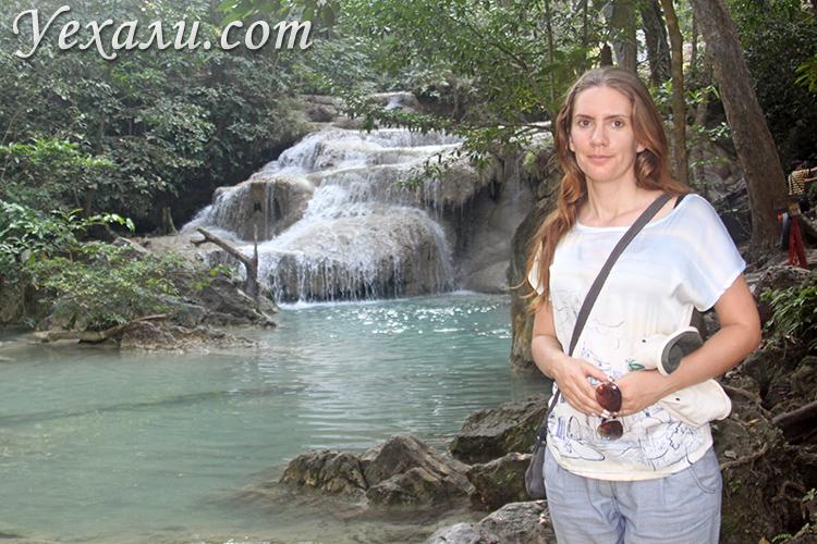 Фото водопада Эраван, Тайланд: уровень 1.