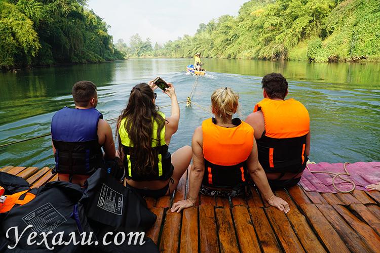 Боди рафтинг на реке Квай