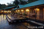Отель на экскурсии «Легендарная река Квай»: фото и объективные соображения о номерах на воде