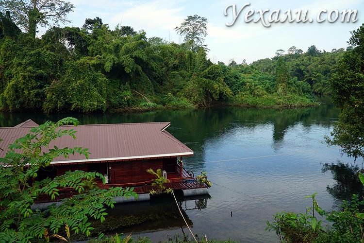 Река Квай, фото рафтинга