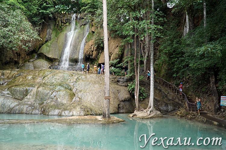Сайок Ной водопад на Квае