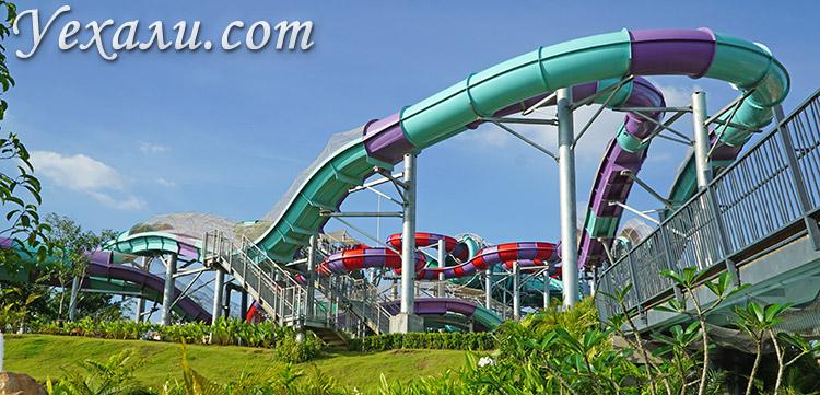 Аквапарк Ramayana Water Park в Паттайе: самая длинная горка в мире.