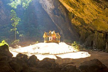Достопримечательности Хуа Хина, Таиланд. Пещера Phraya Nakhon.