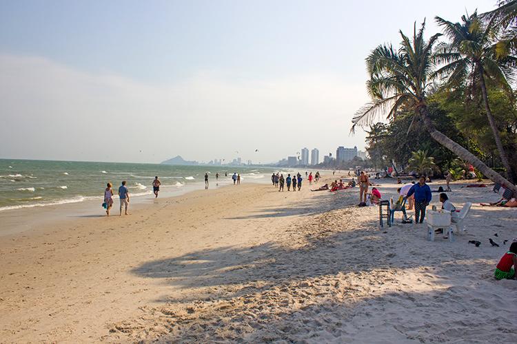 Пляжи Хуа Хина.