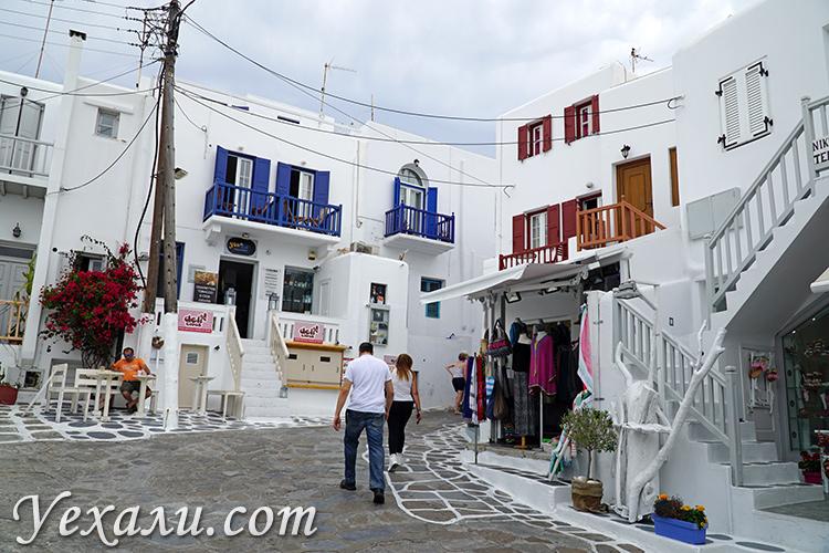 Отель Domna Lakka на Миконосе