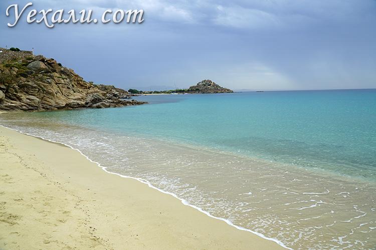 Плати Гиалос пляж, Миконос, Греция
