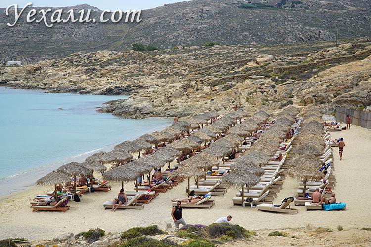 Гей-пляж Элия на Миконосе