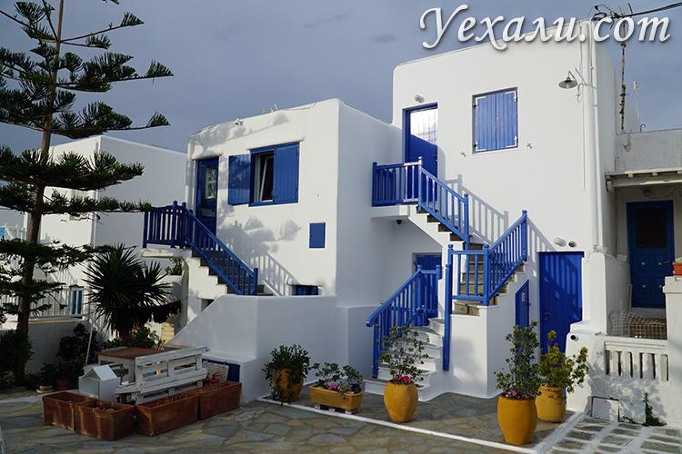 Фотогалерея острова Миконос Греция
