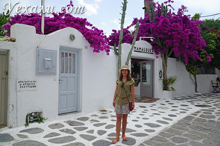 Улочки Миконоса, Греция
