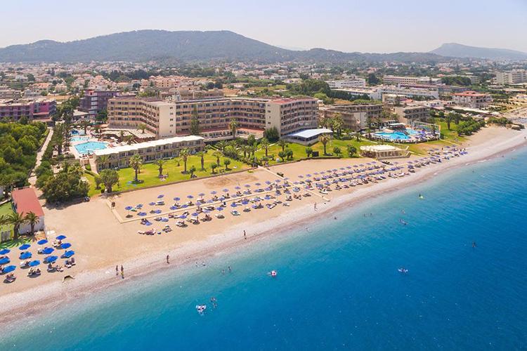 Где лучше отдыхать и остановиться на острове Родос, Греция: Ялиссос.