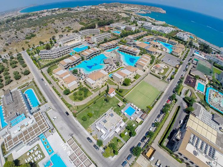 Главные курорты Родоса (Греция): Колимбия.