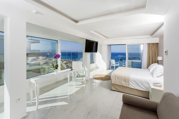 Лучшие отели в городе Родос, Греция: Ibiscus Hotel.