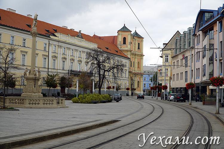 Общественный транспорт в Братиславе