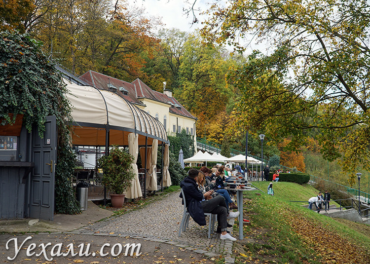 Кафе на Петршинском холме