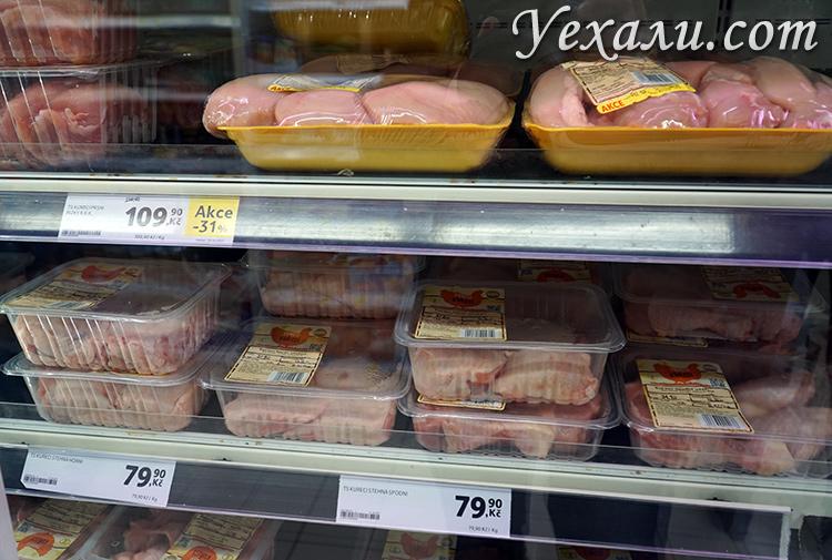 Цены на еду в Праге магазины
