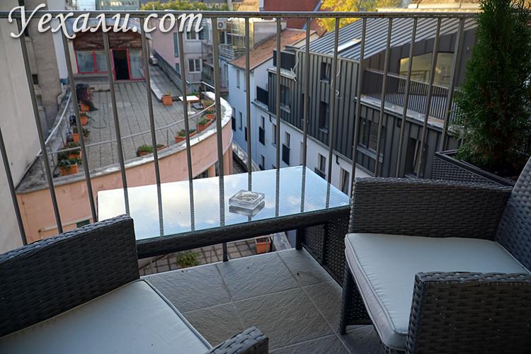 Хостел с балконом в Братиславе