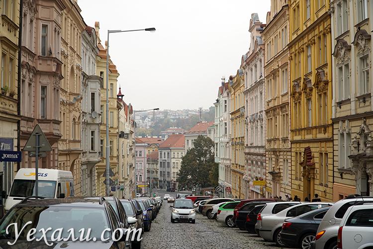 Фото нетуристической Праги