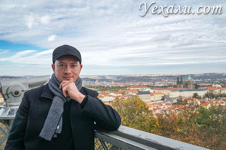 Лучшие смотровые площадки Праги. Петршинская башня.