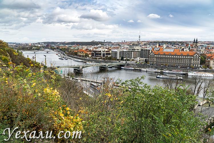 Лучшие смотровые площадки Праги (Чехия): Летенские сады.