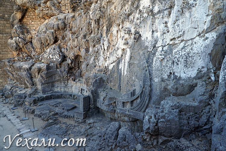 Акрополь в Линдосе, достопримечательности Родоса