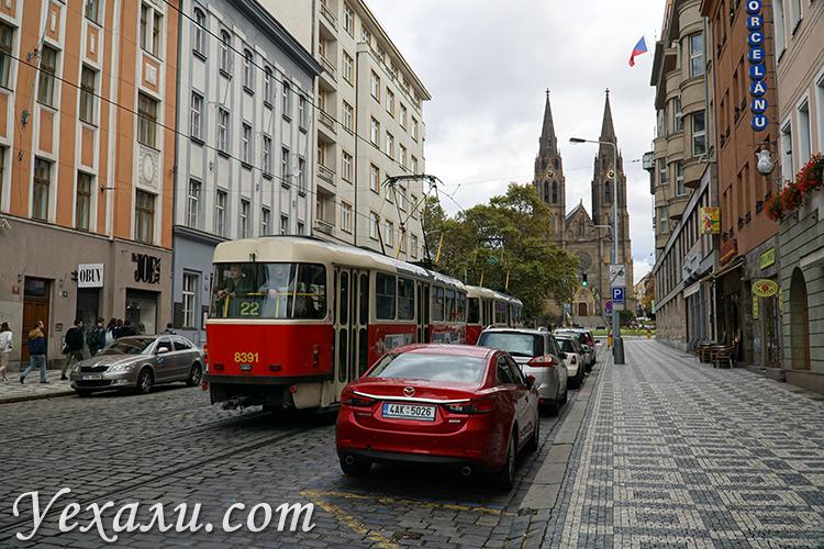 Фото улиц Праги