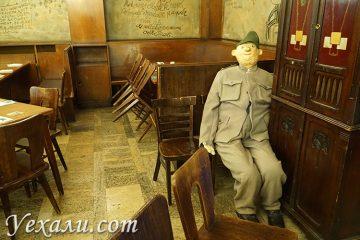 """Ресторан """"У Чаши"""" (""""У Швейка"""") в Праге."""