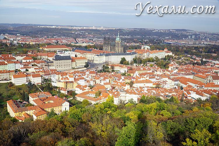 Петршинский холм в Праге