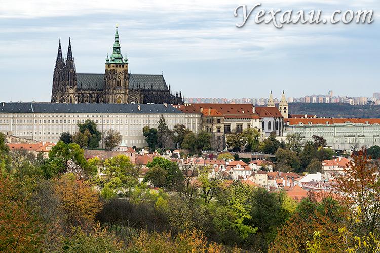 Лучшие смотровые площадки Праги: холм Петршин.