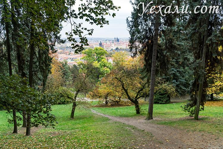 Главные достопримечательности и лучшие обзорные площадки Праги: Петршинский холм.