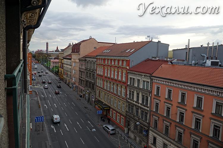 Апарт-отель в Праге с видом на город