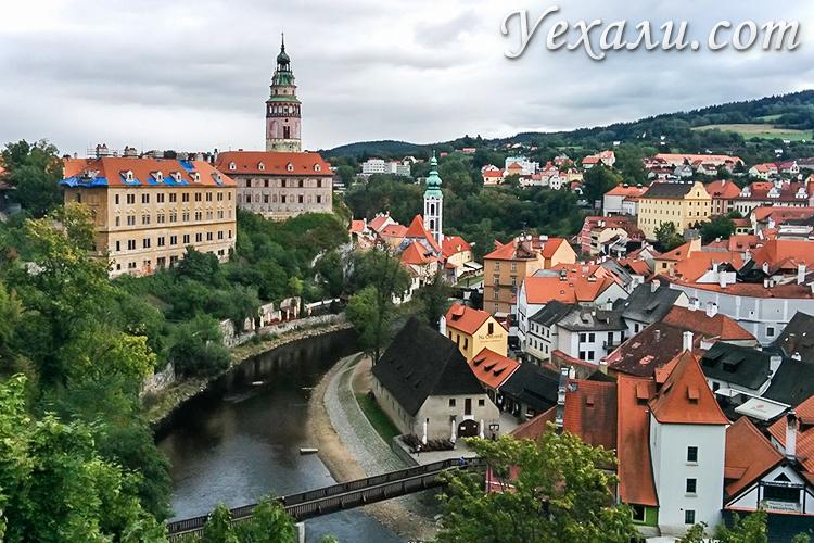 Куда сходить и что посмотреть в Праге за 7 дней. На фото: город Чешский Крумлов.