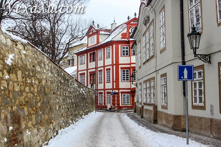 Куда сходить и что посмотреть в Праге. Улица Новый Свет.