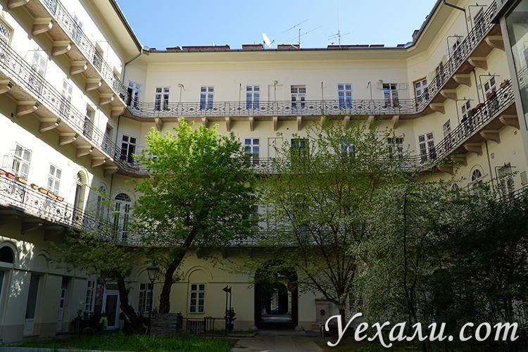 Квартира в аренду в Будапеште в историческом здании