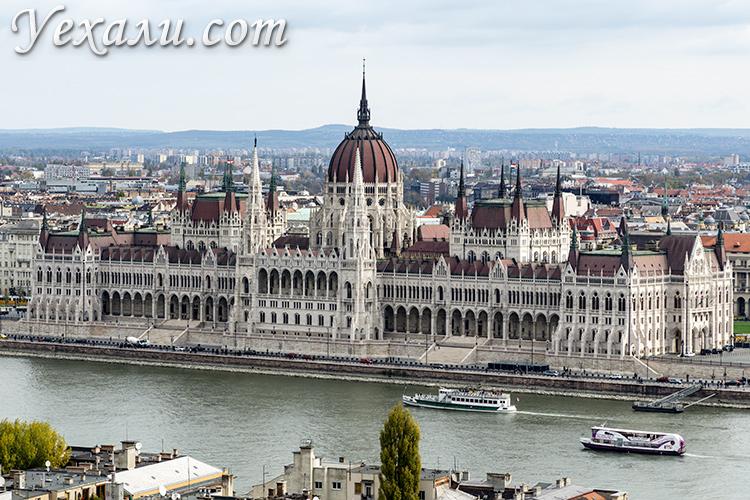 Наши отзывы про Будапешт (Венгрия). На фото: здание Венгерского Парламента.
