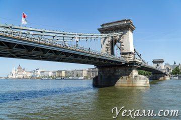 Лучшие фото Будапешта, Венгрия: Цепной мост Сечени.