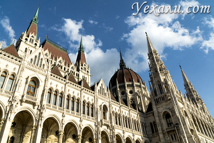 Лучшие фото Будапешта, Венгрия: здание парламента.