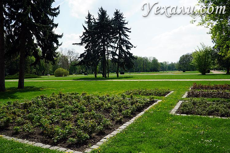 Парк и остров Маргит в Будапеште, фото