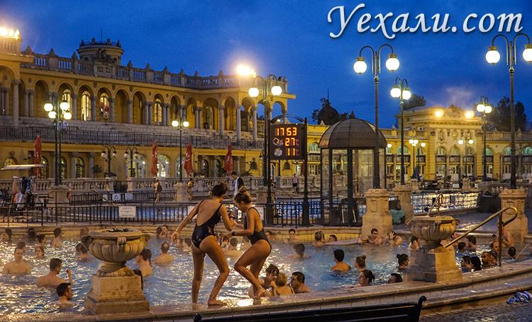 Фото Будапешта, Венгрия: купальня Сеченьи.
