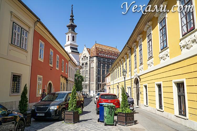 Где остановиться в Будапеште (Венгрия)? На фото: район Будавар (Будайская крепость).