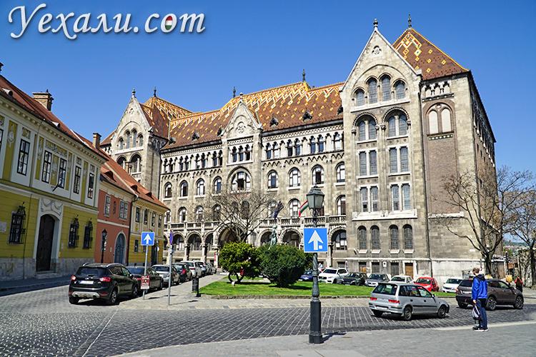 Достопримечательности Будапешта (Венгрия), фото и описание. Улочки Будайского замка.