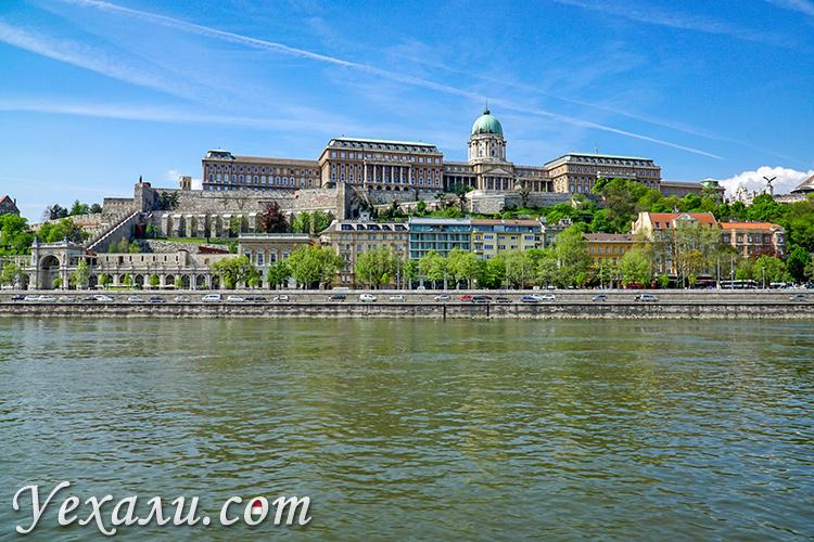 Королевский Дворец в Будапеште, Венгрия.