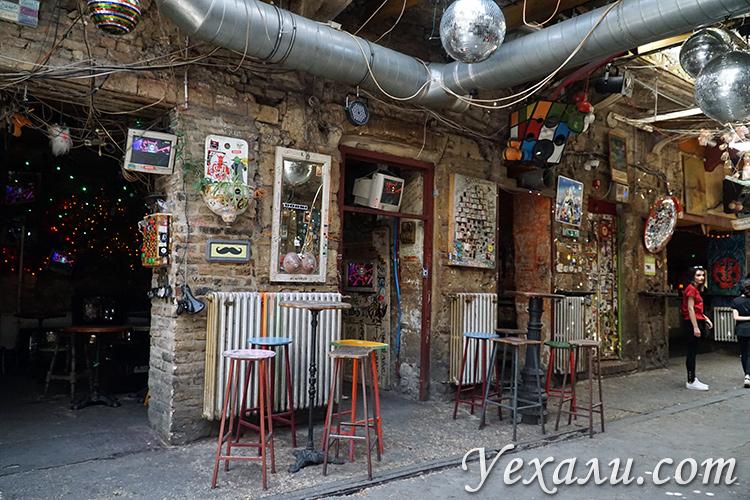 Руин-бар Симпла в Будапеште