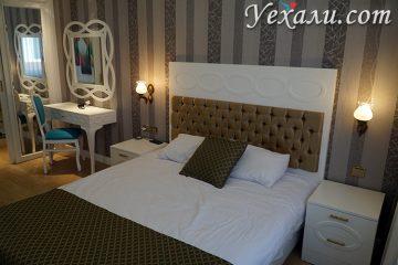 Спальня в отеля Onkel Residence Коньялты, Анталья
